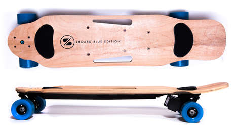 Weight-Sensing Electric Skateboards