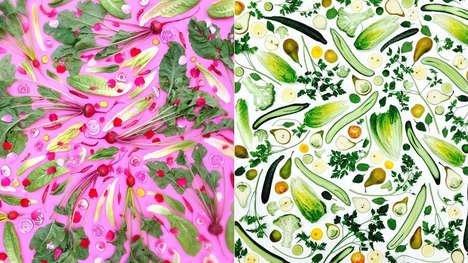 Artful Vegetable Arrangements