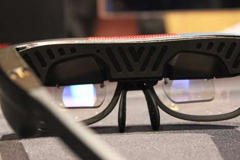 Augmented Reality Eyewear - The ODG Smart Glasses Are Blowing Minds At CES 2015
