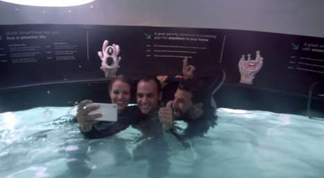 Underwater Phone Stores - This Unique Mobile Store is Situated Underwater in Dubai