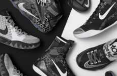 African-American Celebrating Shoes - The Nike Black History Month Collection Honors Six Athletes