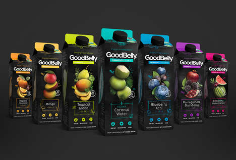 Probiotic Fruit Juices - Goodbelly's Probiotic Drink Delivers Beneficial Bacteria Without Dairy