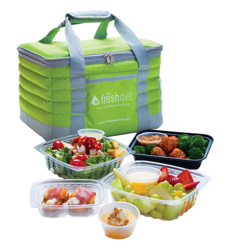 Fresh Meal Deliveries - The Fresh Diet Delivers Breakfast, Lunch & Dinner That's Never Been Frozen