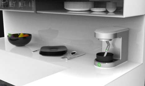 Automated Cooking Robots - The Fresh Food-Preparing Sereneti Cooki Device Launched at CES 2015