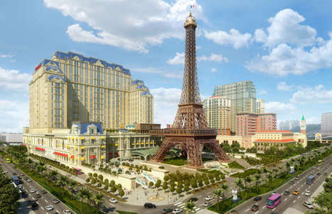 Mock Parisian Resorts - The Parisian Brings the Romantic Feel of France to Macau