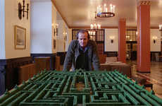 Hedge Maze Competitions - Hotel from the 'The Shining' Announces a Creepy Maze Contest