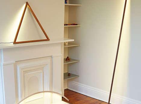 Minimalist Geometric Lamps