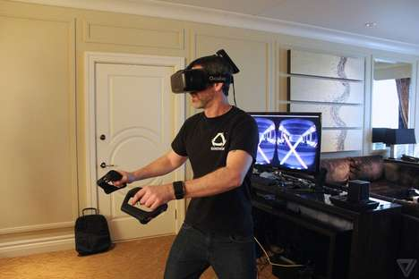 Motion-Controlled VR Lightsabers
