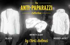 Unphotographable Clothing - The Anti-Paparazzi Collection by Chris Holmes Ensures Privacy