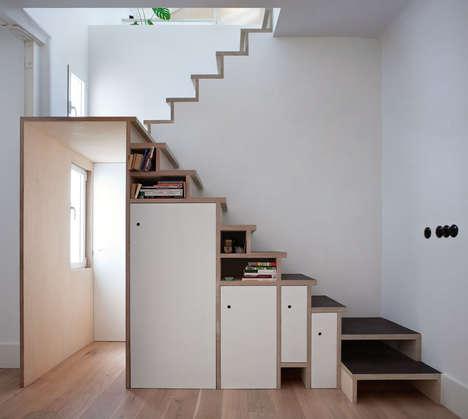 Storage-Stuffed Stairways