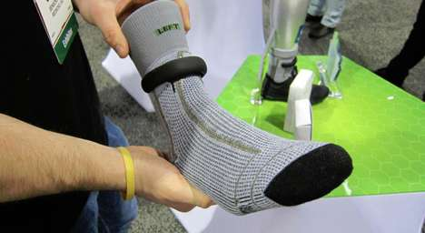 Fitness-Optimized Socks - The Sensoria Smart Sock Offers Feedback on Your Running Technique