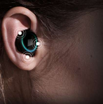 Smart Wireless Earbuds - Bragi Dash Headphones Play Clear Sound and Integrate Environment Awareness