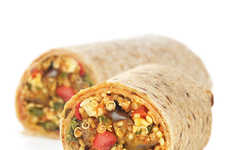 Healthy Frozen Burritos - Luvo's Healthy Burrito Products Are Stuffed with Gourmet Mixed Meals