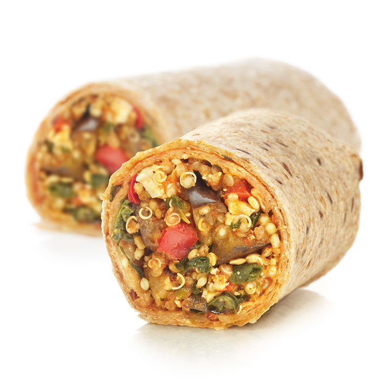 Healthy Frozen Burritos