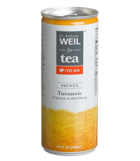 Canned Turmeric Teas - Dr. Andrew Weil's Turmeric Drink Makes an Ancient Remedy Easy to Consume
