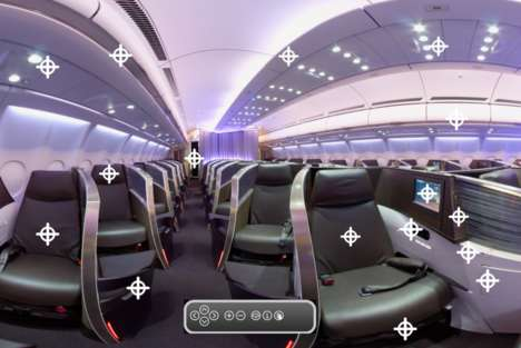 First Class Tour Apps - Virgin Atlantic Airways Launches Augmented Reality Planeview App