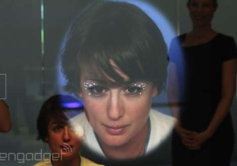Skin-Analyzing Smart Mirrors - Panasonic's High-Tech Mirror that Delivers Beauty and Makeup Advice