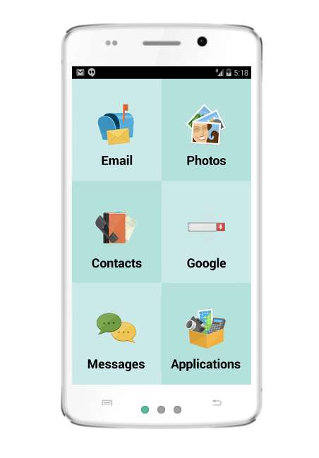 Simplified Senior Smartphones
