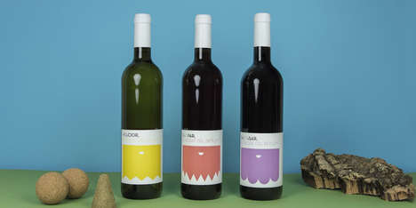 Abstractly Branded Bottles