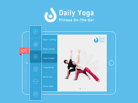 Mobile Yoga Apps - The Daily Yoga App Adds Ease to a Routine Practice