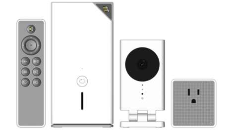 All-Inclusive Home Systems - The QBee Connected Home System Was Unveiled At CES 2015