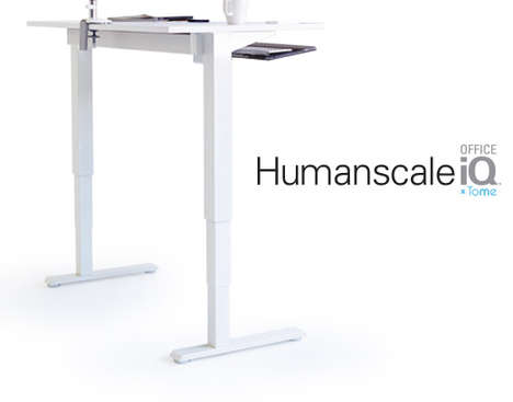 Movement-Encouraging Workstations - The Modern Workspace is Embedded with Tech To Make You Healthier