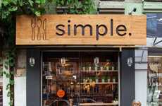 Simplistic Fast Food Restaurants - The 'Simple' Restaurant Keeps Things Straight-Forward