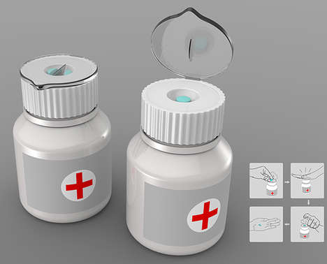 Dose-Dividing Capsule Containers