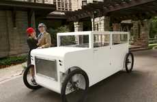 Premium Pedal-Powered Cars - This Luxury Bicycle Vehicle Requires You to Work from the Waist Down