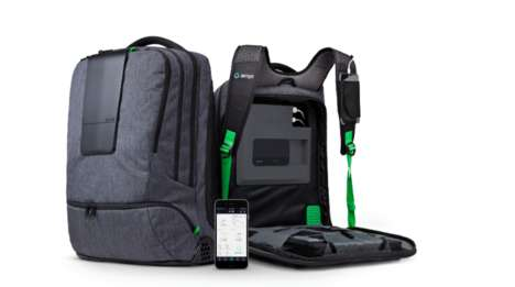 Gadget-Charging Backpacks - The Smartbag is the World's Smartest Backpack
