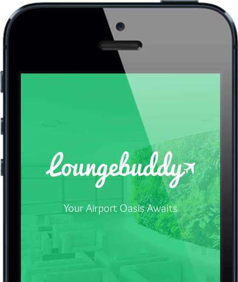 VIP Lounge-Booking Apps - The LoungeBuddy App Helps Air Travelers Get Airport Lounge Access