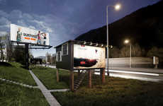 Triangular Billboard Houses