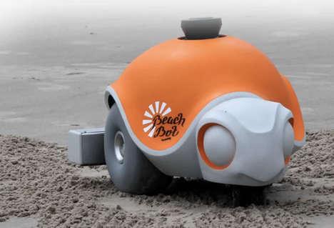 Sand Art Robots