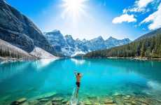 Scenic Extreme Sport Photography - Chris Burkard's Images Capture Gorgeous Natural Landscapes