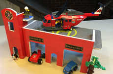 Eco Flat-Pack Playsets - BrikBilt's Toys Serve as a Cheap LEGO Playset Alternative