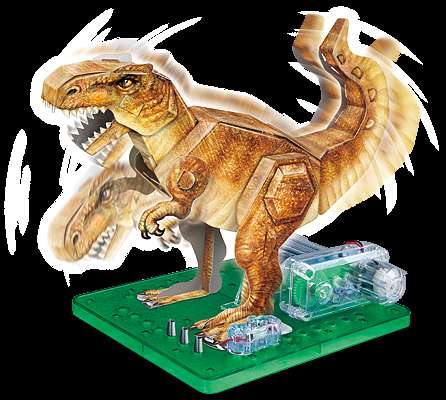 Paper Dino Toys