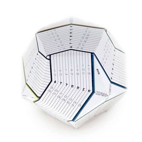 Dodecahedron Calendars