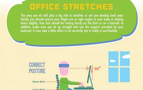 Poor Posture Infographics