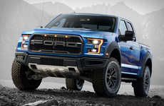 Lightweight Pickup Trucks - The Ford F-150 Raptor is Both Powerful and Fuel-Efficient