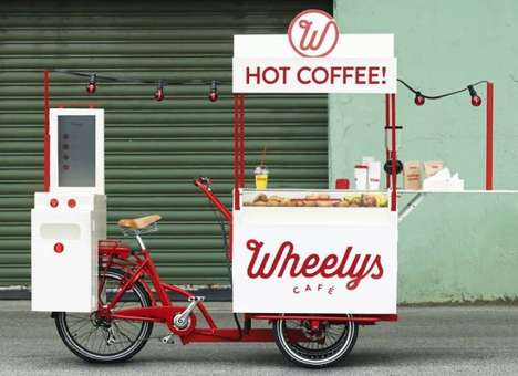 Coffee-Carrying Trikes
