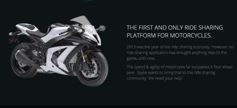 Motorcycle Ride Sharing Platforms