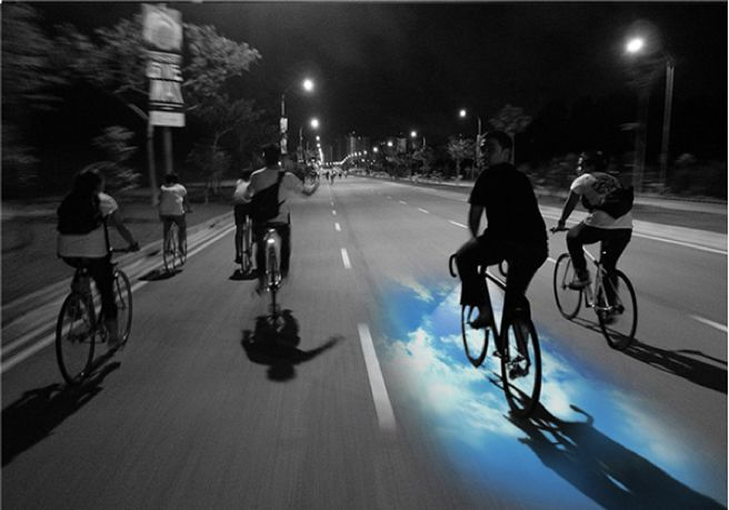 Transfixing Laser Bike Lights