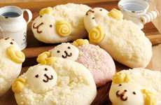 Sheep-Shaped Baked Goods - Japanese Bakery DONQ is Cutely Celebrating the Year of the Sheep