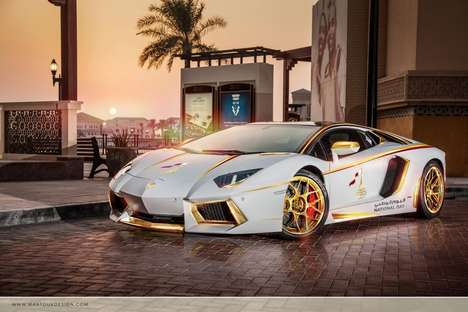 Gold-Plated Supercars