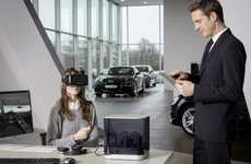 Automobile Virtual Reality Headsets - The Audi Virtual Reality Headsets Aid Car Configuration
