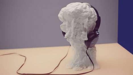 Musical 3D-Printed Videos