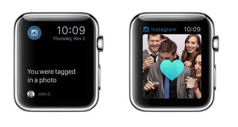 Mockup Smartwatch Apps