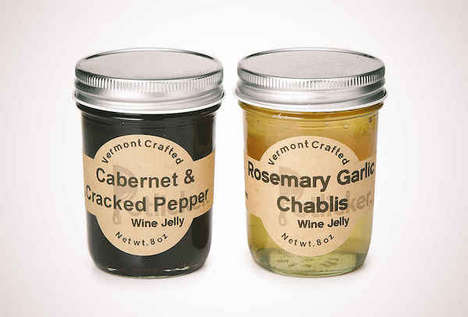 Spreadable Vino Jams - This Savory and Sweet Vermont Crafted Wine Jelly is From Potlicker Kitchen