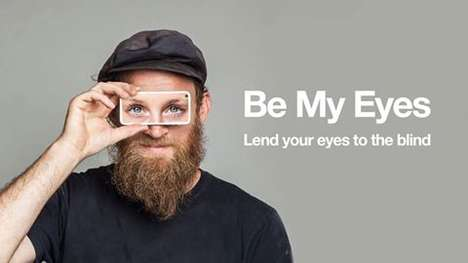 Sight-Sharing Apps - Be My Eyes is a Crowdsourced Video Chat that Helps Blind Individuals