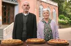 Elderly Pizza Marketing - The Pizza Hut Old World Ad Travels to Italy to Determine Taste and Quality